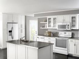 Interesting Kitchens With White Ice Appliances Best Refrigerator Images On Pinterest French Intended Design Decorating