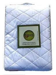 First Quality Quilted Table Protectors - Quilted Dining Table Pad ... & Image is loading First-Quality-Quilted-Table-Protectors-Quilted-Dining-Table - Adamdwight.com