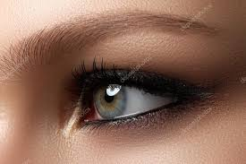 creative eye makeup fashionable smoke eyes cosmeticake up dark eye makeup with dark black eye makeup photo by looking 2 the sky