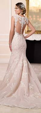 best 25 blush wedding dresses ideas