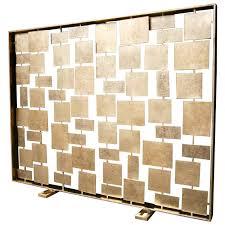 modern decoration mid century fireplace screen contemporary fireplace screens