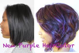 How To Color Your Hair Purple And Keep It Healthy Youtube