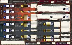 warhammer character sheet wfrp3 character sheet by hapimeses on deviantart