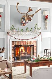 You'll fall hard for these Christmas ledges. Fireplace Mantel  DecorationsChristmas ...