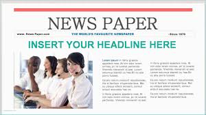 Newspaper Template After Effects Free After Effects News Template Free After Effect Templates Intro Fresh