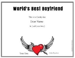 Printable Boyfriend Awards Download Them Or Print