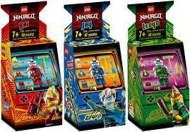 Lego Ninjago 3er Set 71714 71715 71716 Arcade Kapseln: Avatar Kai + Avatar  Jay + Avatar Lloyd: Amazon.de: Spielzeug