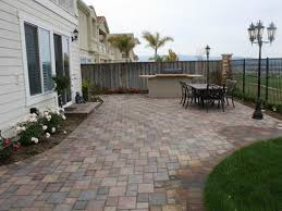 Patio Ideas  Concrete Patio Pavers Lowes Concrete Paver Patio Backyard Patio Stones