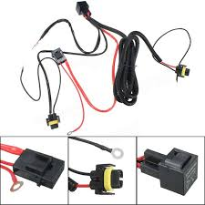 h11 880 relay wiring harness for hid conversion kit add on fog Wiring Harness Kit h11 880 relay wiring harness for hid conversion kit add on fog lights led drl wiring harness kits for old cars