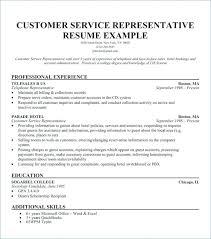 10 Call Center Representative Resume Lycee St Louis