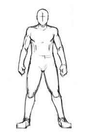 Basic Human Figure Template For Costume Design Sketch It Trace