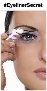 eye the benefits of using an eyeliner stencil to create winged liner or cat