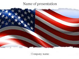 American Flag Powerpoint Template Templates Templates