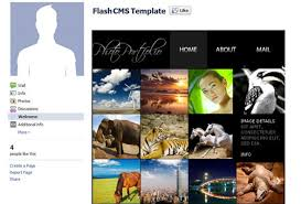 How To Edit A Template For Facebook Fan Page A Step By Step