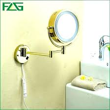 magnifying mirror with light wall mounted magnified mirror with lighted wall mounted makeup mirror with light lighted wall mount makeup mirror mirror