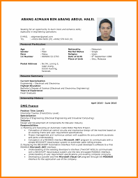 Cv Format Doc Download Newme Elegant Job Eliolera Of Magnificent New ...
