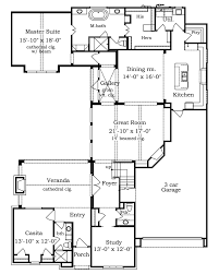 middle house plans with information