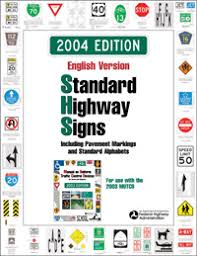 Mutcd Sign Chart Standard Highway Signs And Markings Book Fhwa Mutcd