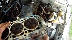 2005 ford expedition 5 4l triton cylinder head removal