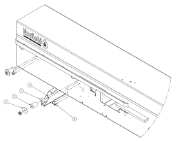 Infeed roller without sizer sander diagram