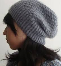 Free Slouch Hat Knitting Patterns Amazing Free Knitting Pattern For Graham Slouchy Beanie Easy Unisex
