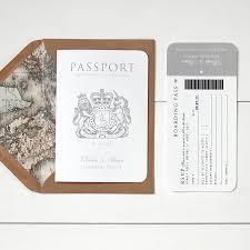 around the world' passport wedding invitation by ditsy chic Wedding Invitation Charms Uk 'around the world' passport wedding invitation ' Unique Wedding Invitations UK