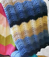 Chevron Crochet Blanket Pattern Stunning Crochet Chevron Blanket Baby Pattern ⋆ Crochet Kingdom