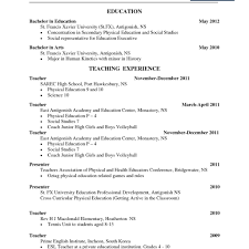 Resume Template For Teacher Adorable Free Teacher Resume Templates Beautiful Pact Resume Template Free