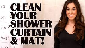 how to clean your shower curtain mat easy bathroom cleaning ideas that save time clean my space you