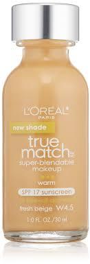 true match super blendable makeup fresh beige w4 5