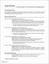 Nursing Resume Examples For Medical Surgical Unit Free Nursing