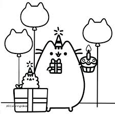 Pusheen Coloring Pages Pusheen Coloring Pages Plus Pusheen Coloring