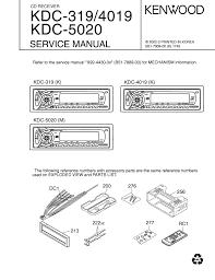 kenwood kdc 319 kdc 4019 kdc 5020 kenwood kdc 319 wiring diagram at Kenwood Kdc 319 Wiring Harness