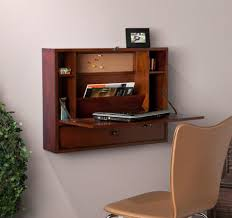 Fold Down Computer Table Fold Away Desk And Chair Wall Mounted