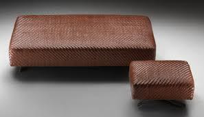 contemporary ottoman  fabric  leather  indoor  filicudi  flexform
