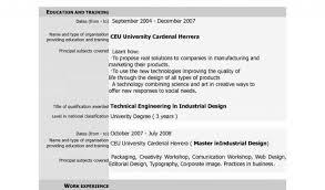 Resume Format Sample For Job Application And Free Download Cv