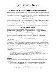 Resume Objective For Sales Position Sales Resume Examples New