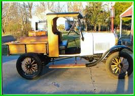 1926 Ford Model T Pickup Truck, 4-cyl, 3-Speed Manual Transmission, RWD