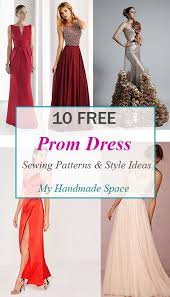 Dress Patterns Free Custom 48 FREE Prom Dress Sewing Patterns My Handmade Space