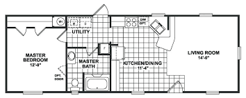 Elegant Single Wide Mobile Home Plans Clayton Floor Plan Collections 66593 .