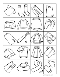 Small Picture Most Interesting Coloring Pages Clothes Winter Clothes Coloring