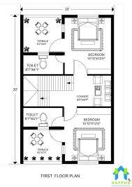 floor plan for 20 x 30 feet plot 3