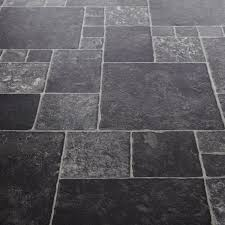 Kitchen Floor Tiles Vinyl Flair 595 Toucan Stone Tile Vinyl Flooring Kitchen Pinterest