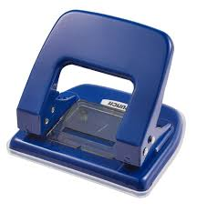 No 40 2 Hole Paper Punch 18 Sheets 80 Gsm Navy Blue