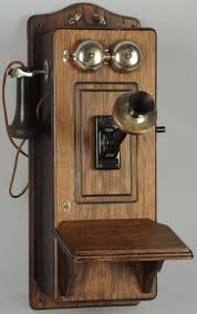 antique phone wall phone
