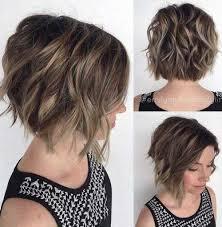 short haircuts for thick wavy hair