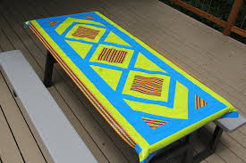 duct tape furniture. Duct Tape Picnic Table Cloth - Crafty Staci 1 Furniture