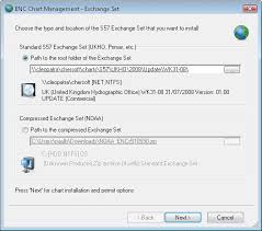 Primar Charts How To Install S 57 Exchange Sets Henry Support