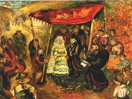 Image result for jewish wedding art