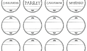Address Label Templates Delectable Mason Jar Label Template Spice Labels Free Word Templates Printable